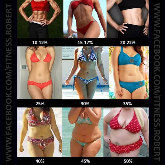 What Is Your Body Fat Percentage WOMEN - Healthy Fitness Workout - PROJECT NEXT - Bodybuilding & Fitness Motivation + Inspiration