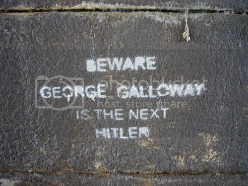 Galloway next Hitler