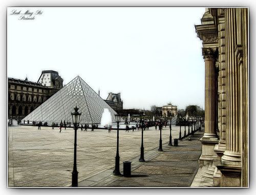 Piramide de Leoh Ming Pei