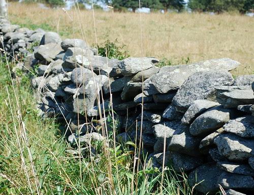 Watsons Farm rock wall