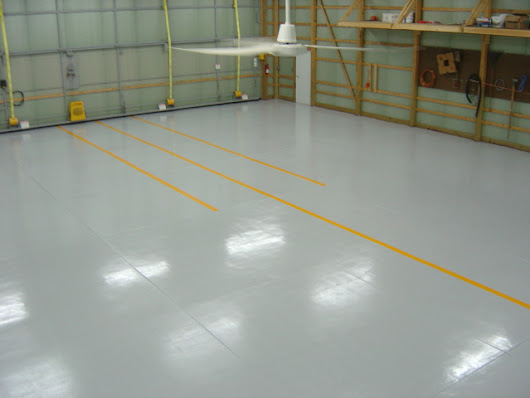 Moisture Mitigating Polymer Industrial & Commercial Floors