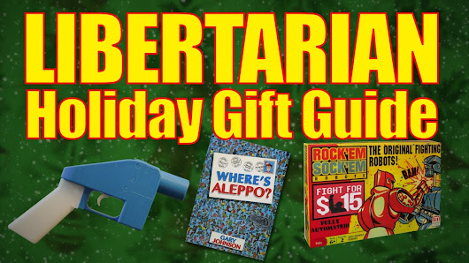 The Libertarian Holiday Gift Guide - YouTube
