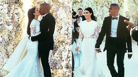 Kim Kardashian & Kanye West Wedding Photos!   YouTube
