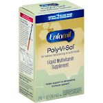 Enfamil Poly-Vi-Sol, Liquid Multivitamin Supplement, for Transitioning to Solids 50 mL Bottle