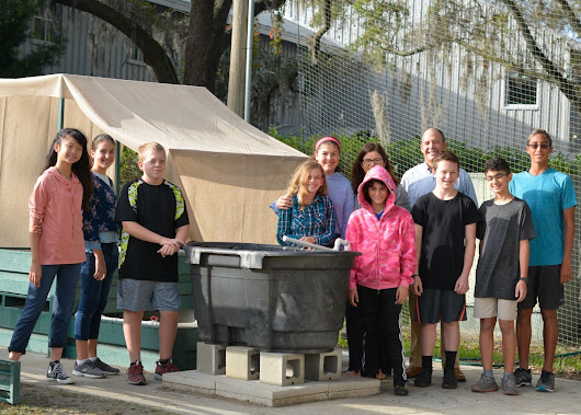 Middle School Aquaponics Opens Door for Increased STEAM Experiences | News Content - Corbett Preparatory School of IDS