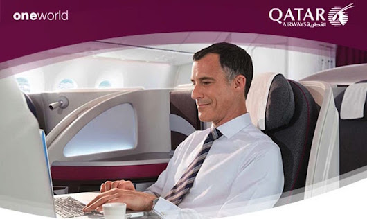 15% Off Business Class on Qatar Airways