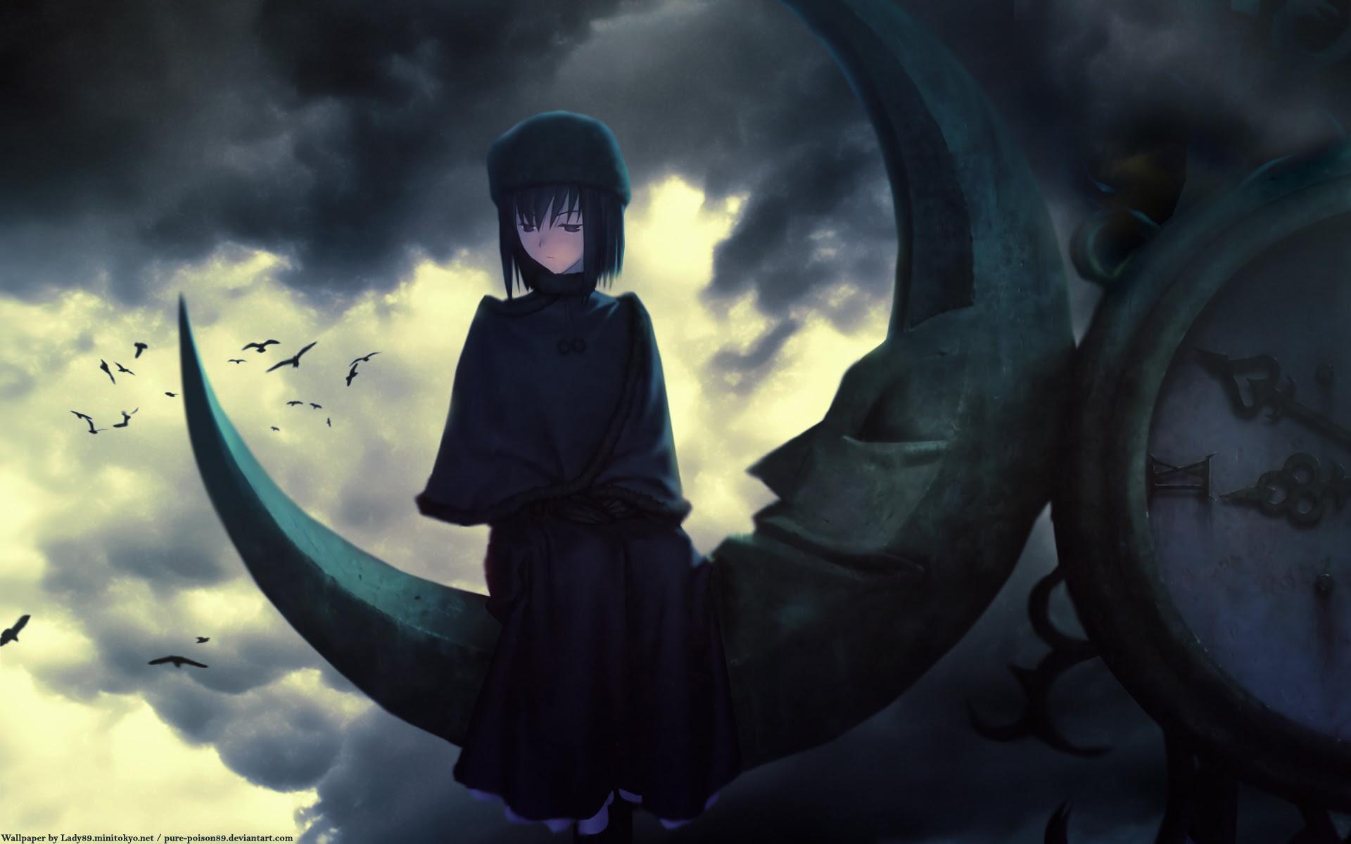 Mahou Tsukai No Yoru Wallpaper Edge Of Darkness Minitokyo