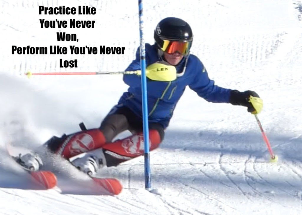 Practice Like Youve Never Won Race Your Own Race