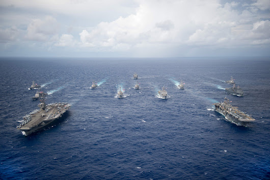 U.S. Deploys Three Carrier Strike Groups to the Korean Peninsula