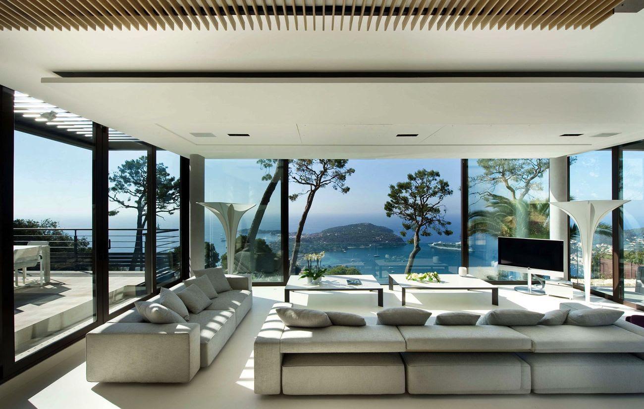 maison de luxe moderne interieur - Conception De La Maison ...