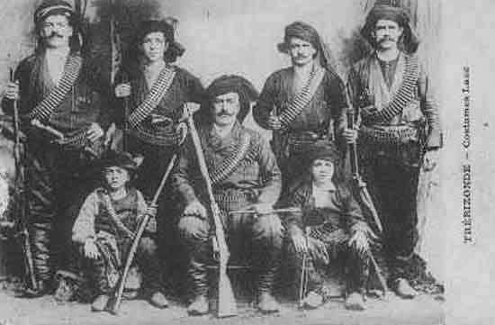 Pontic Greek warriors, Trebizond/Trapezunt/Trabzon