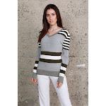 Striped Long Sleeve Knit