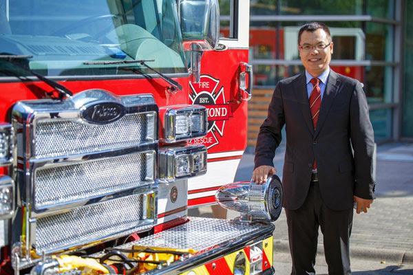 Peter Liu: On rise in Richmond politics