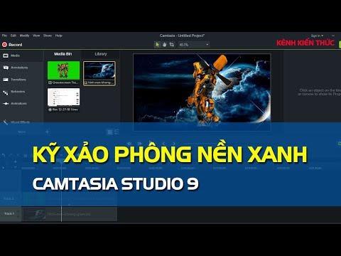 Camtasia 9 | Làm kỹ xảo video với phong nền xanh