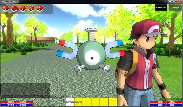 Image 4  Pok\u00e9mon MMO 3D  Indie DB