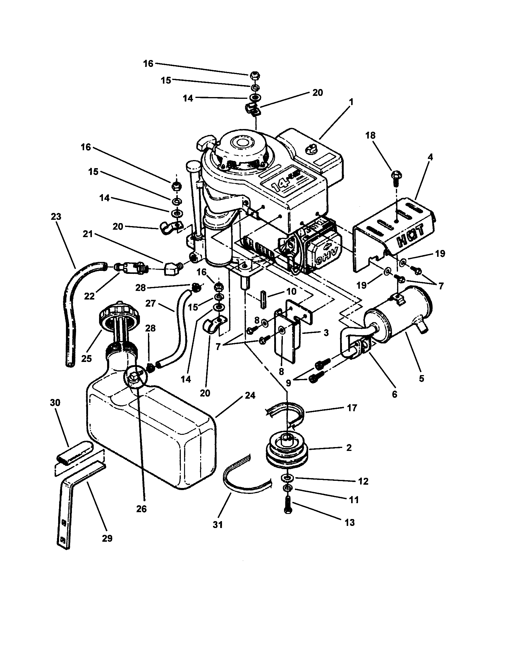 Wiring Diagram: 33 Snapper Riding Mower Parts Diagram