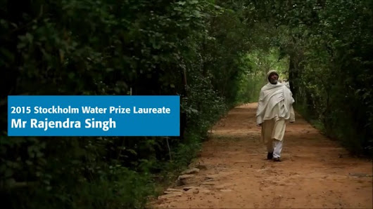 Short interview with 2015 Stockholm Water Prize Laureate