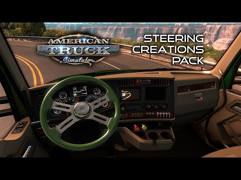 Steering Creations Pack for ATS