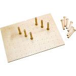 Rev-A-Shelf 4DPS-3921 39 x 21 Inch Wood 16 Peg Board Drawer Organizer System at Spreetail (VMinnovations   VM Express)