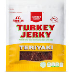 Teriyaki Turkey Jerky 2.85oz - Market Pantry