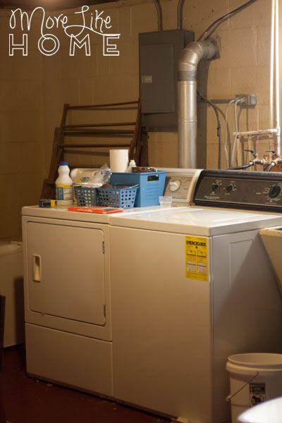 http://www.morelikehome.net/2014/09/basement-laundry-room.html