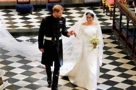 Meghan Markle wears Clare Waight Keller for Givenchy gown