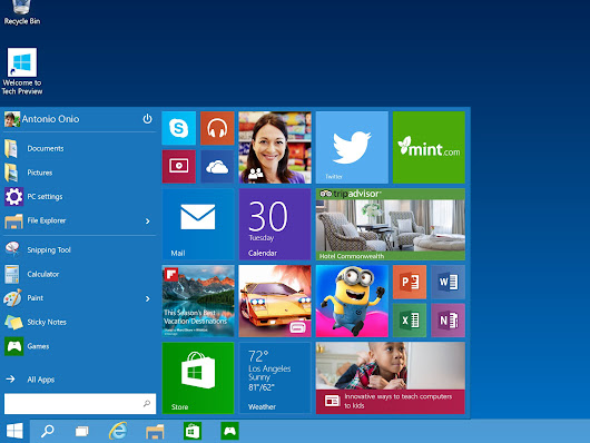 Download Windows 10 Technical Preview  - Siteforyouu | Free Download Site | Movies,Songs,Games,News,Softwares
