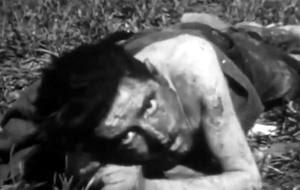 Die Ausrottung der deutschen Kriegsgefangenen war Eisenhowers Ziel. Beim Anblick der Sterbenden verspürte er perverse Befriedigung.