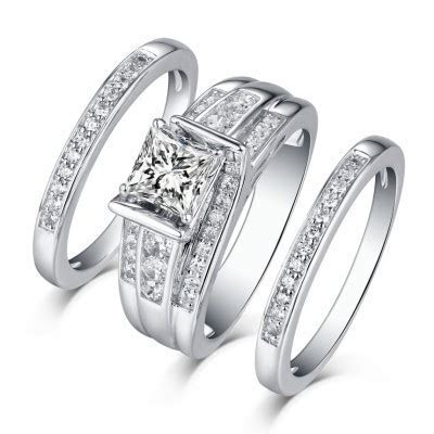 Bridal Rings, Cheap Wedding Rings for Her & Him   Lajerrio