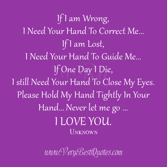 Quotes About Hold My Hand 54 Quotes