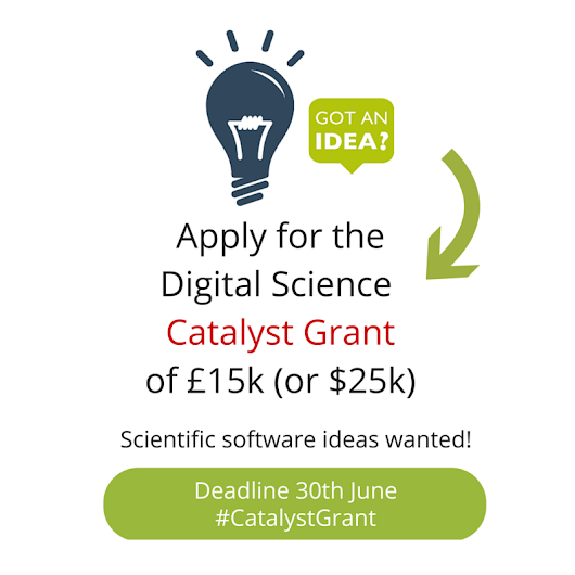 Scientific Software Ideas Wanted – 10 Tips to Impress the Catalyst Grant Panel : Of Schemes and Memes Blog