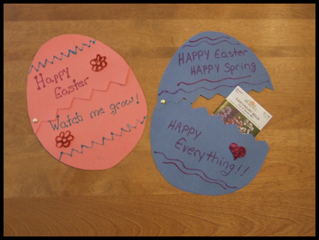 Birthday cards ideas birthday card kids craft for Easter crafts for elementary students