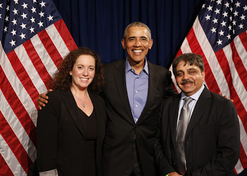 AL Limaye with Ex-President, US – Barack Obama and Condoleezza Rice at Call2Lead event, Sapphire Now...