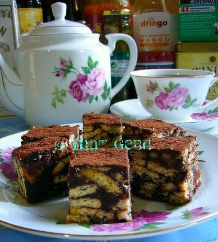 Image Result For Dapur Tanpa Sempadan Kek Batik Biskut Marie