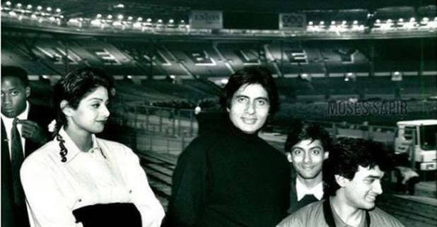 Amitabh Bachchan's flashback picture from the London concert is not to be missed at all