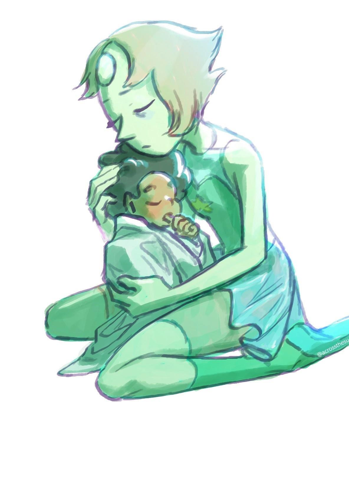 Crystal gems love Steven