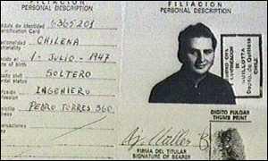 image: [ Ramirez's passport shows his origins ]