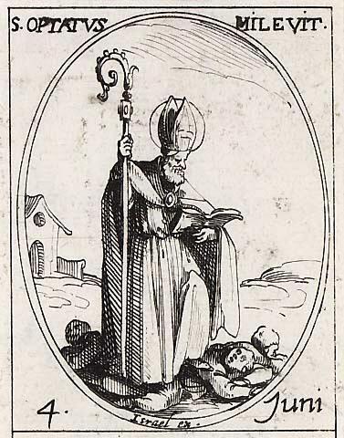 Saint Optat de Milev. Evêque († 384)