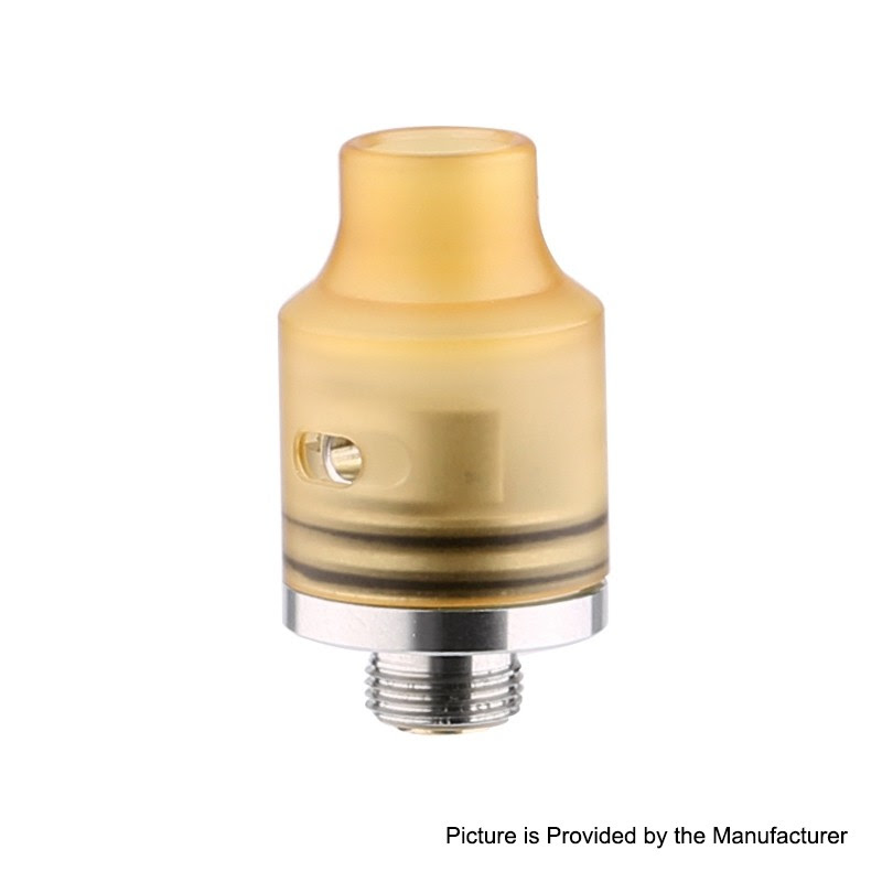 Authentic Demon Killer Tiny BF RDA Yellow PEI 14mm Rebuildable Atty - $10.99