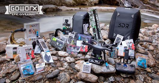 Win $4K in GoPro, Drone & Mobile Gear - GoWorx Giveaway
