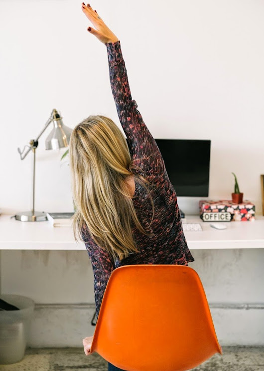 Six Stretches for People Who Sit at Desks | A Cup of Jo