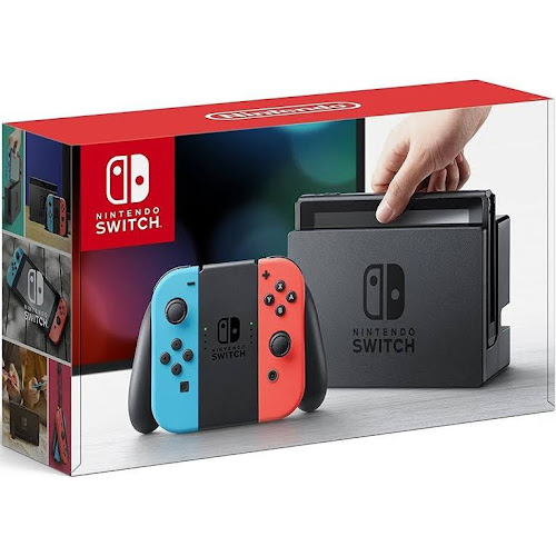 Nintendo Switch with Joy-Con - 32 GB - Neon Blue/Neon Red