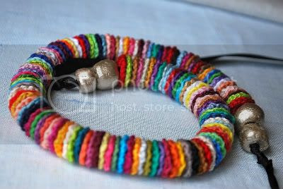 Colorido Long Crochet Necklace by Lavender Field
