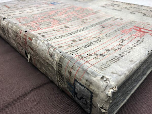 The Surprising Practice of Binding Old Books With Scraps of Even Older Books - Atlas Obscura
