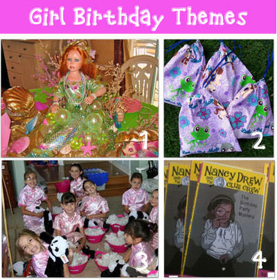 birthday parties Girl Birthday Party Themes