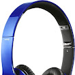 Beats By Dr. Dre - Beats Solo High-Definition On-Ear Headphones - Metallic Blue