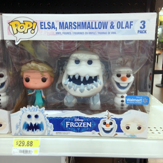 Marshmallow Monster Frozen Funko Pop Figure