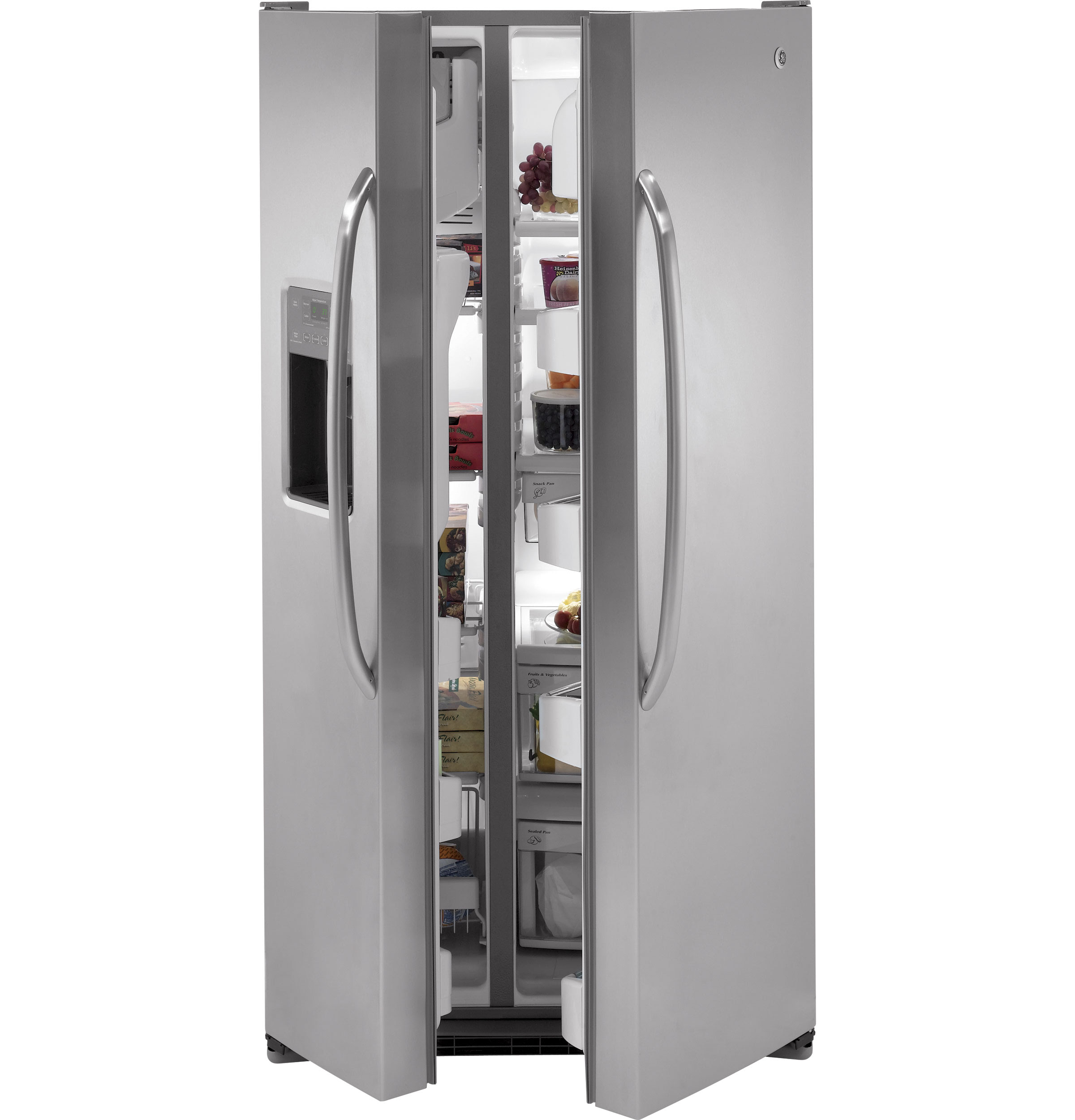 Adora series by GE 25 9 Cu Ft Side By Side Refrigerator