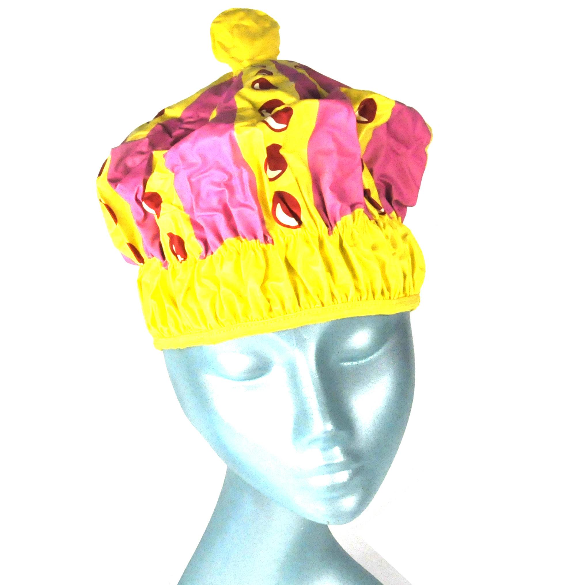 /Queen of the Bathroom Bath & Shower Cap / Swim Cap Crown ...