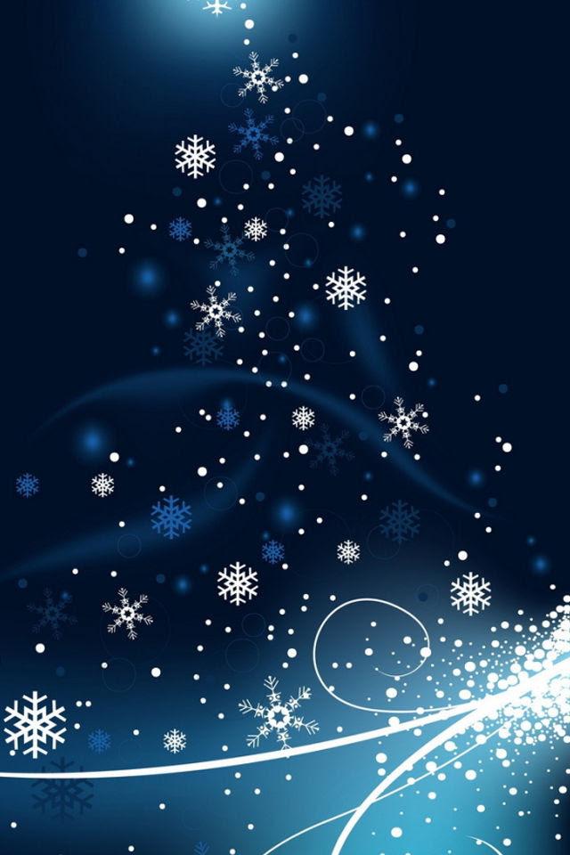 20 Winter Snowflake Iphone Wallpaper Basty Wallpaper